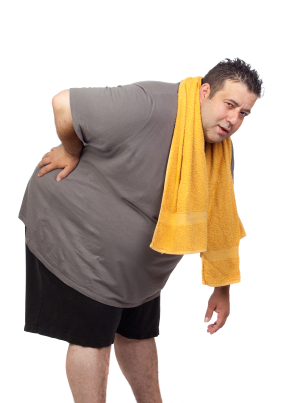 Moving toward a healthier weight won't happen if you hurt!